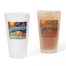 Dwelling Places Drinking Glass