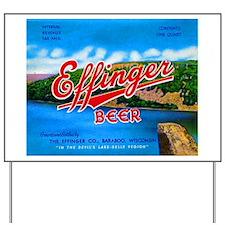 Wisconsin Beer Label 14 Yard Sign