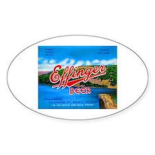 Wisconsin Beer Label 14 Decal