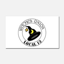 Witches Union Car Magnet 20 x 12
