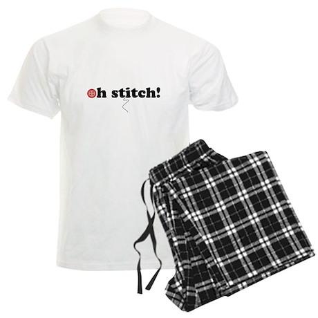 oh stitch! Men's Light Pajamas