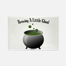 Funny Halloween maternity brew Rectangle Magnet