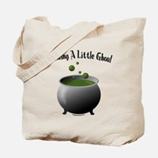 Funny Halloween maternity brew Tote Bag