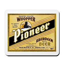 Washington Beer Label 2 Mousepad