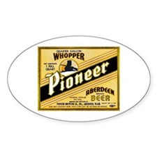 Washington Beer Label 2 Decal