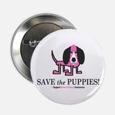"Save the Puppies 2.25"" Button"