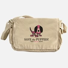 Save the Puppies Messenger Bag