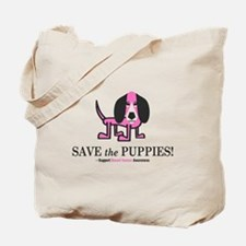 Save the Puppies Tote Bag