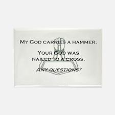 Hammer Rectangle Magnet