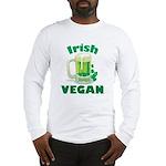 Irish Vegan Long Sleeve T-Shirt
