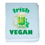 Irish Vegan baby blanket