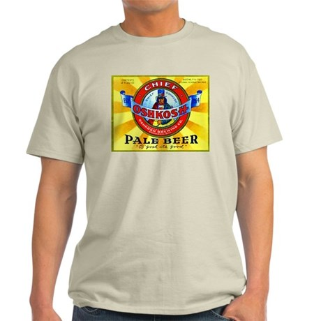 Wisconsin Beer Label 16 Light T-Shirt