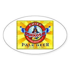 Wisconsin Beer Label 16 Decal