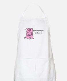 PIGS ARE FOR LOVIN,NOT THE OVEN! BBQ Apron