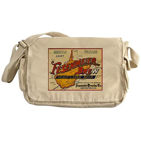West Virginia Beer Label 1 Messenger Bag