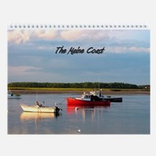 Scenes of The Maine Coast Wall Calendar