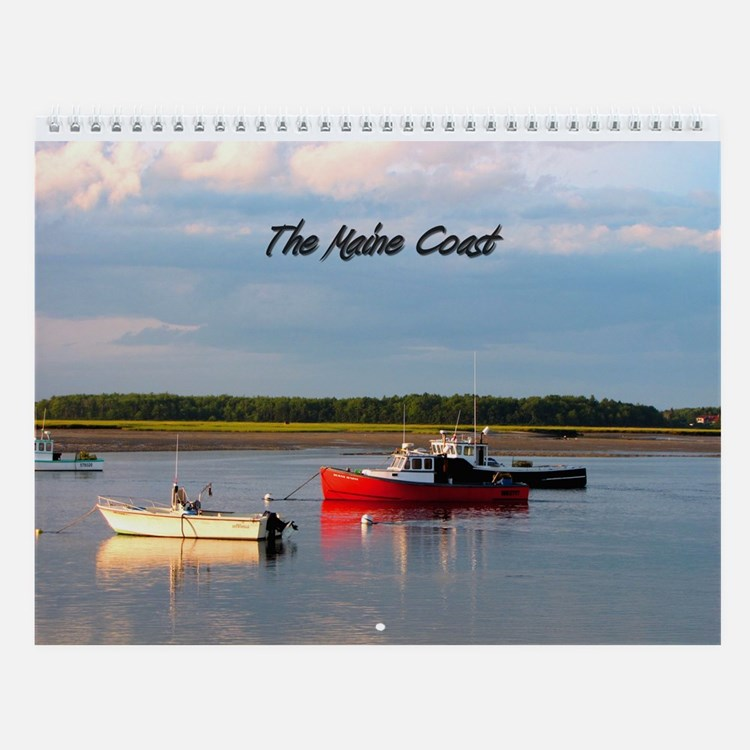 Scenes of The Maine Coast Wall Calendar
