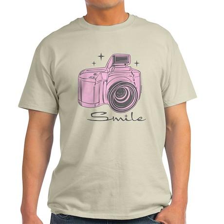 Camera Smile Light T-Shirt