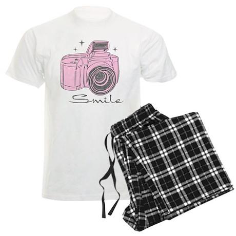 Camera Smile Men's Light Pajamas