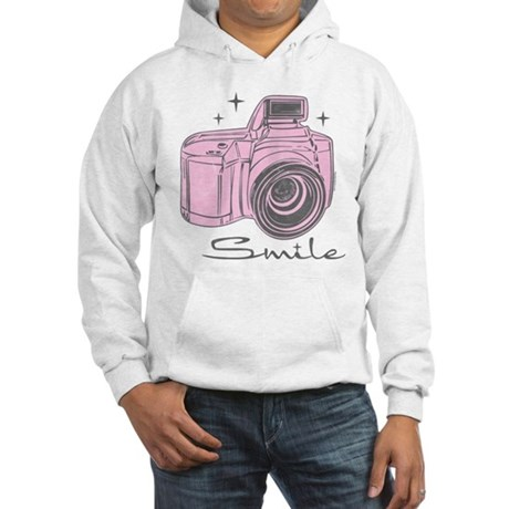 Camera Smile Hooded Sweatshirt