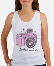 Camera Smile Women's Tank Top