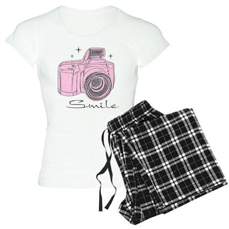 Camera Smile Women's Light Pajamas