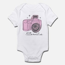Camera Smile Infant Bodysuit
