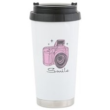 Camera Smile Travel Coffee Mug