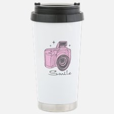 Camera Smile Travel Mug