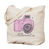 Camera Regular Canvas Tote Bag