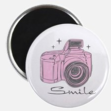 "Camera Smile 2.25"" Magnet (10 pack)"