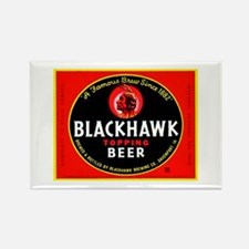 Iowa Beer Label 1 Rectangle Magnet