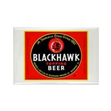 Iowa Beer Label 1 Rectangle Magnet (100 pack)