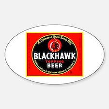 Iowa Beer Label 1 Decal