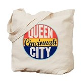 Cincinnati Regular Canvas Tote Bag