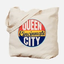 Cincinnati Vintage Label Tote Bag