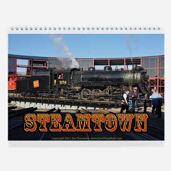 Steamtown Trains Wall Calendar