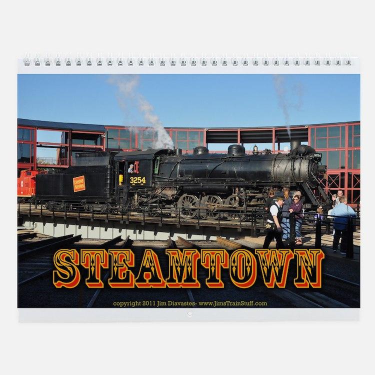 Steamtown Trains Wall Calendar