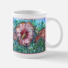 Rose of Sharon, floral, art, Small Small Mug