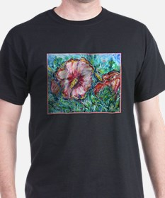 Rose of Sharon, floral, art, T-Shirt