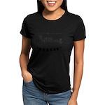 ROSES Women's Dark T-Shirt