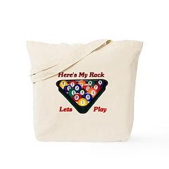 Here Is My Rack Tote Bag