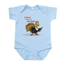 Tofu Not Turkey Infant Bodysuit