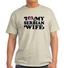 I Love My Serbian Wife T-Shirt