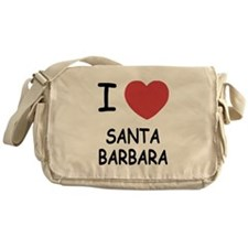 I heart santa barbara Messenger Bag
