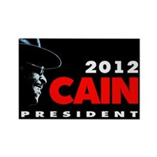 2012 CAIN Rectangle Magnet
