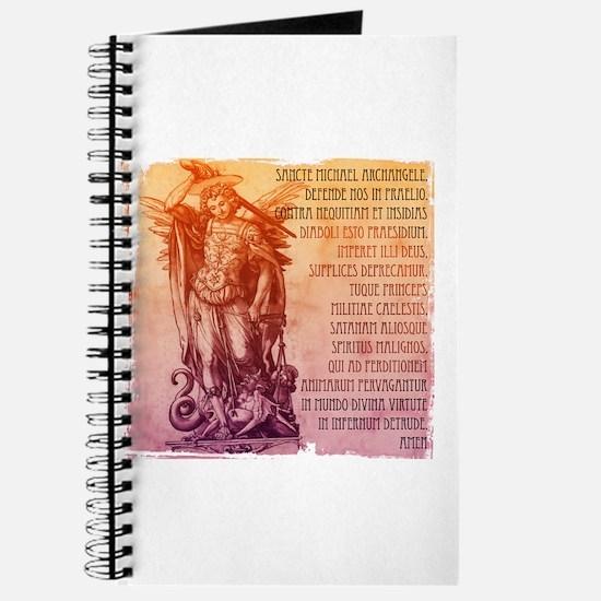 St. Michael Prayer in Latin Journal