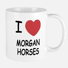I heart morgan horses Mug