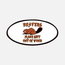 Beavers ... make shit out of wood Patches