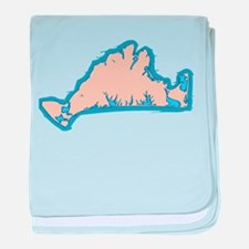 Martha's Vineyard MA. baby blanket
